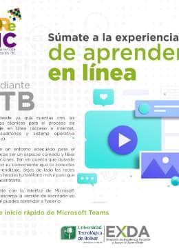 Aprender en línea UTB